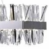 "Picture of 50"" LED Chandelier with Chrome Finish"