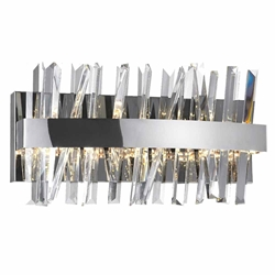 """18"""" LED Wall Sconce with Chrome Finish"""