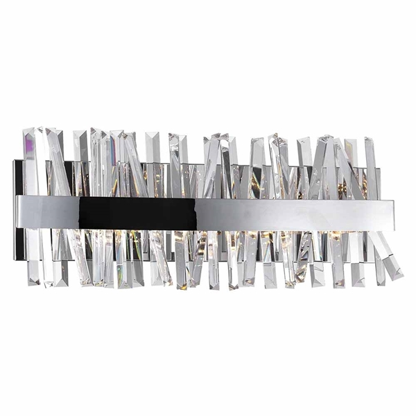 "Picture of 24"" LED Wall Sconce with Chrome Finish"