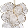"""Picture of 10"""" 1 Light Pendant with Gold Leaf Finish"""