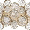 """Picture of 17"""" 2 Light Wall Sconce with Gold Leaf Finish"""