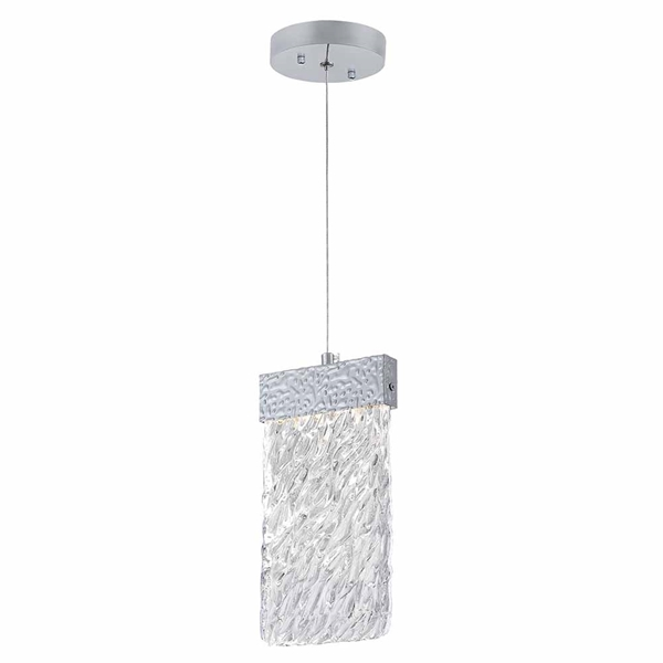 """Picture of 10"""" LED Pendant with Pewter Finish"""