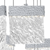"""Picture of 22"""" LED Chandelier with Pewter Finish"""