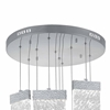 "Picture of 22"" LED Chandelier with Pewter Finish"