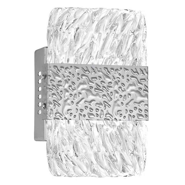 """Picture of 8"""" LED Wall Sconce with Pewter Finish"""