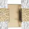 """Picture of 14"""" LED Wall Sconce with Gold Leaf Finish"""