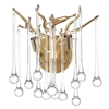 """Picture of 12"""" 2 Light Wall Sconce with Gold Leaf Finish"""