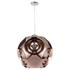"Picture of 19"" 1 Light Chandelier with Copper Finish"