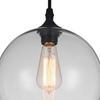 "Picture of 10"" 1 Light Down Mini Pendant with Transparent finish"