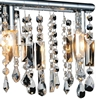 "Picture of 10"" 2 Light Vanity Light with Chrome finish"
