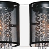 """Picture of 10"""" 2 Light Vanity Light with Chrome finish"""