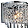 """Picture of 10"""" 3 Light Vanity Light with Chrome finish"""