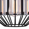 """Picture of 10"""" 1 Light Down Pendant with Black finish"""
