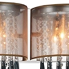 "Picture of 10"" 3 Light Vanity Light with Chrome finish"