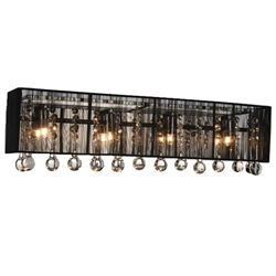 "10"" 4 Light Vanity Light with Chrome finish"