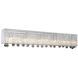"10"" 5 Light Vanity Light with Chrome finish"