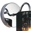 "Picture of 10"" Gocce Modern Crystal String Shade Vanity Light Wall Sconce 1 Light"