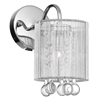 """Picture of 11"""" 1 Light Bathroom Sconce with Chrome finish"""