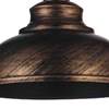 "Picture of 11"" 1 Light Down Mini Pendant with Antique Copper finish"