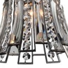 """Picture of 11"""" 1 Light Drum Shade Chandelier with Antique Forged Silver finish"""
