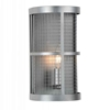 "Picture of 11"" 1 Light Wall Sconce with Gray finish"
