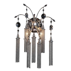 """11"""" 2 Light Vanity Light with French Gold finish"""