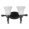"Picture of 11"" 2 Light Vanity Light with Standard Dark Bronze finish"