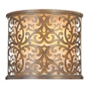 """Picture of 11"""" 2 Light Wall Sconce with Brushed Chocolate finish"""
