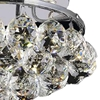 """Picture of 11"""" 3 Light  Flush Mount with Chrome finish"""