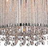 "Picture of 11"" 3 Light Drum Shade Mini Pendant with Chrome finish"