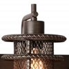 "Picture of 11"" 3 Light Wall Sconce with Brown finish"