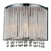 "Picture of 11"" 3 Light Wall Sconce with Chrome finish"