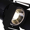 "Picture of 11"" LED Outdoor Semi-Flush Mount with Black & Wood finish"