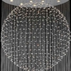 """Picture of 110"""" 21 Light  Flush Mount with Chrome finish"""