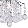 "Picture of 12"" 1 Light  Mini Chandelier with Chrome finish"