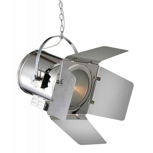 "Picture of 12"" 1 Light  Pendant with Chrome finish"