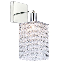 "12"" 1 Light Bathroom Sconce with Chrome finish"