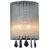 "Picture of 12"" 2 Light Bathroom Sconce with Chrome finish"