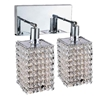 """Picture of 12"""" 2 Light Vanity Light with Chrome finish"""