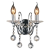 "Picture of 12"" 2 Light Wall Sconce with Chrome finish"