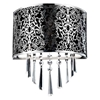 """Picture of 12"""" 2 Light Wall Sconce with Satin Nickel finish"""