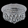 """Picture of 12"""" 3 Light  Flush Mount with Chrome finish"""