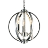 """Picture of 12"""" 3 Light Up Mini Pendant with Chrome finish"""