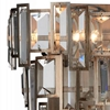"""Picture of 12"""" 3 Light Wall Sconce with Champagne finish"""