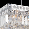 """Picture of 12"""" 4 Light  Mini Chandelier with Chrome finish"""