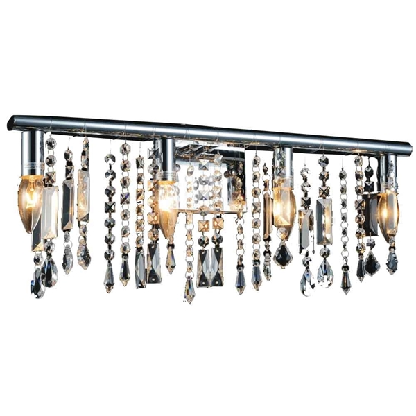 """Picture of 12"""" 4 Light Vanity Light with Chrome finish"""