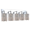 """Picture of 12"""" 5 Light Vanity Light with Chrome finish"""