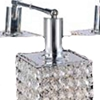 "Picture of 12"" 6 Light Vanity Light with Chrome finish"