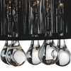 "Picture of 12"" Gocce Modern Crystal String Shade Vanity Light Linear Wall Sconce 2 Lights"