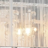 "Picture of 12"" Gocce Modern Crystal String Shade Vanity Light Wall Sconce 2 Lights"